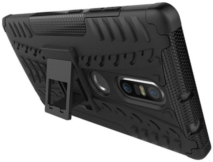 Aspir Back Cover for Lenovo Phab 2 Black Defender
