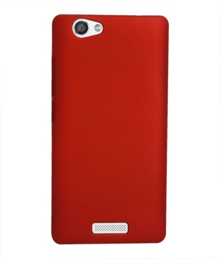 MV Back Cover for Micromax Canvas Silver 5 Q450 Red