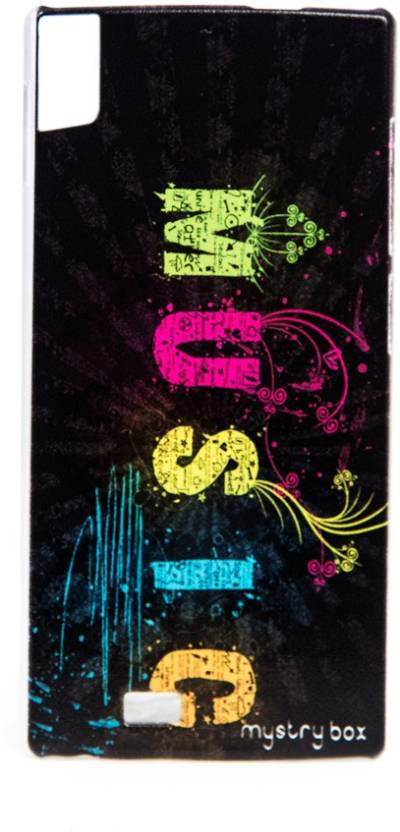 Mystry Box Back Cover for Gionee Elife S5.5 Music Magic Multicolor, Silicon