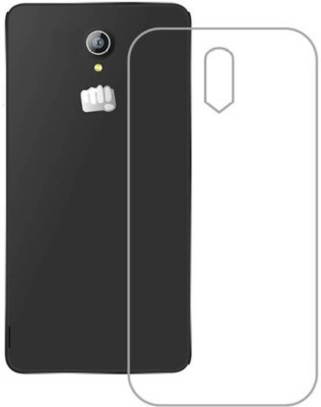 Totu Back Cover for Micromax S301 Transparent