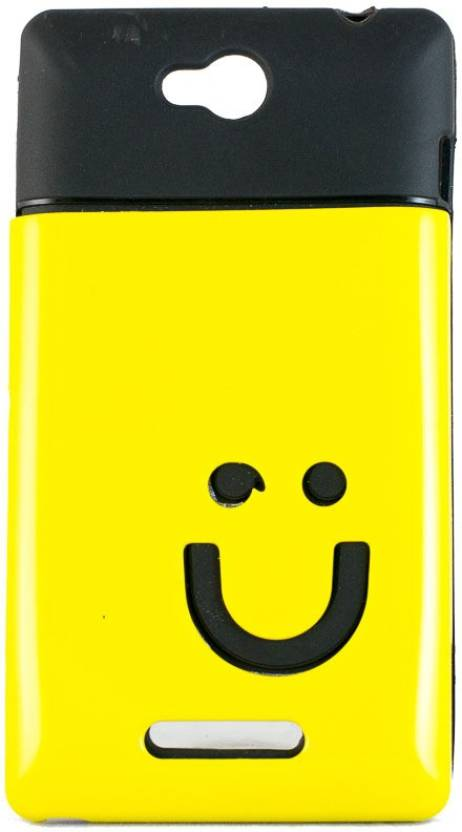 Mystry Box Back Cover for Sony Xperia C C2305 S39H Yellow
