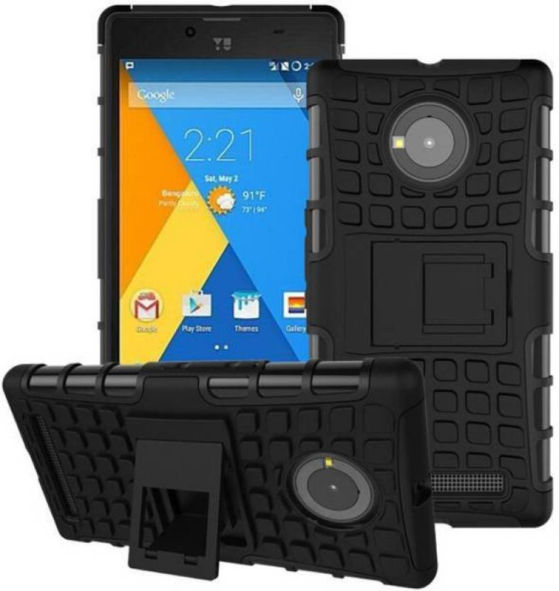 S Line Back Cover for Yu Yuphoria Black