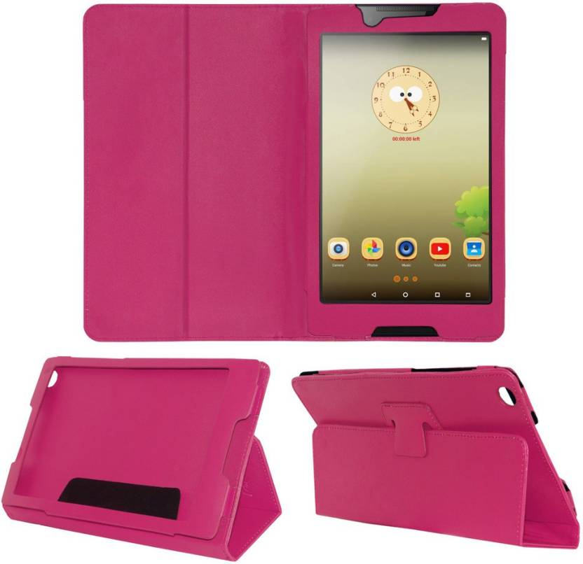 ACM Book Cover for Lenovo Tab 3 8 inch Pink