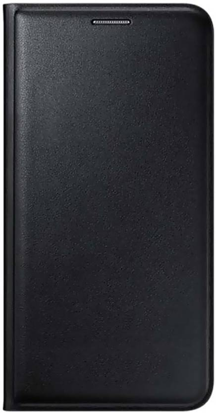Helix Flip Cover for Reliance JIO LYF Flame F8 Black