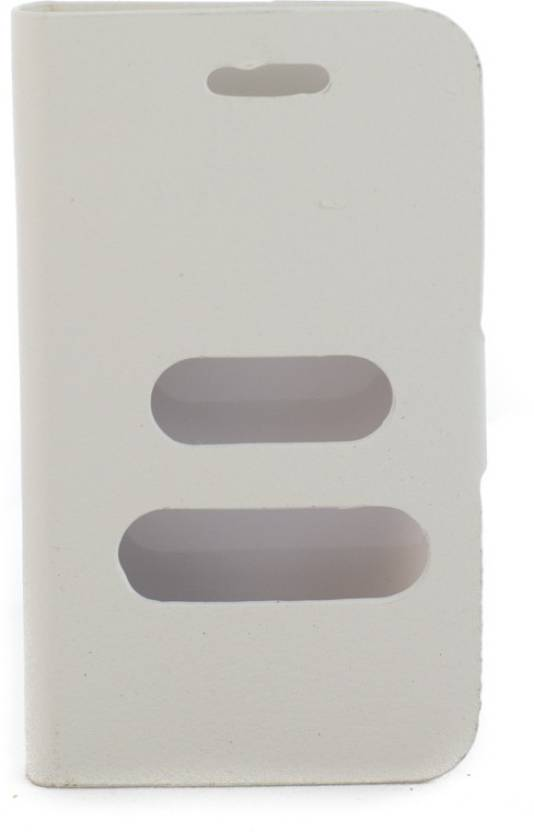 Mystry Box Flip Cover for Samsung Galaxy Ace S5830 White