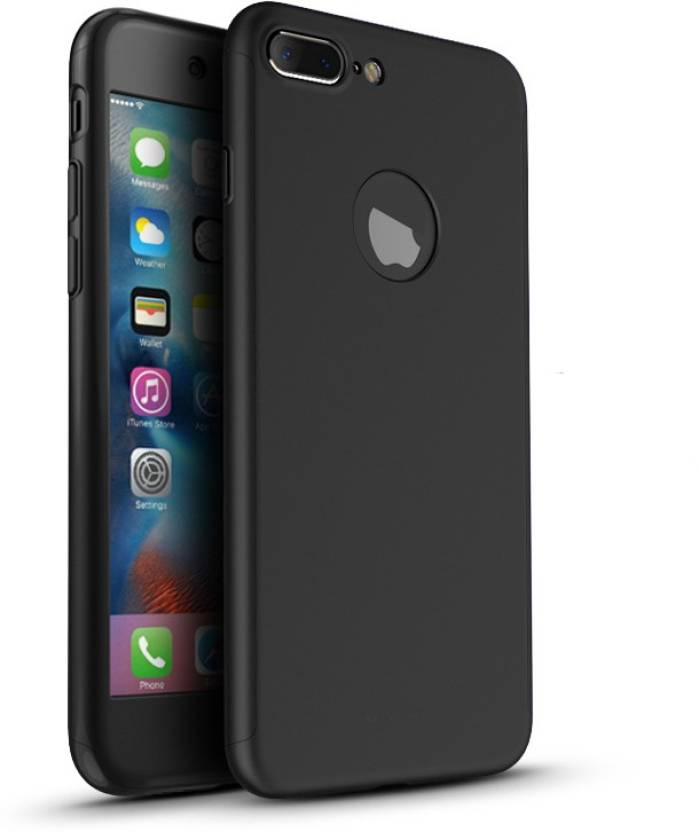 Alwin Front   Back Case for Apple iPhone 7 Plus Black