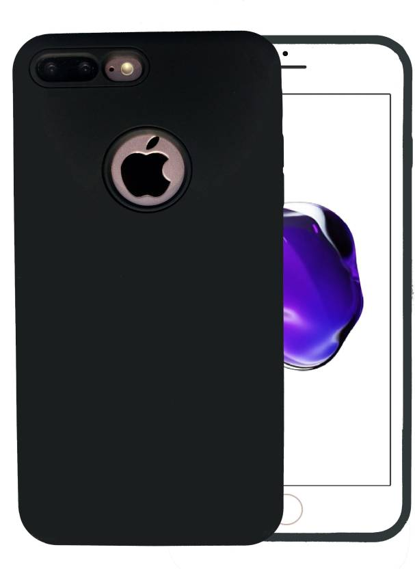 Mobile Mart Back Cover for Apple iPhone 7 Plus Black, Shock Proof