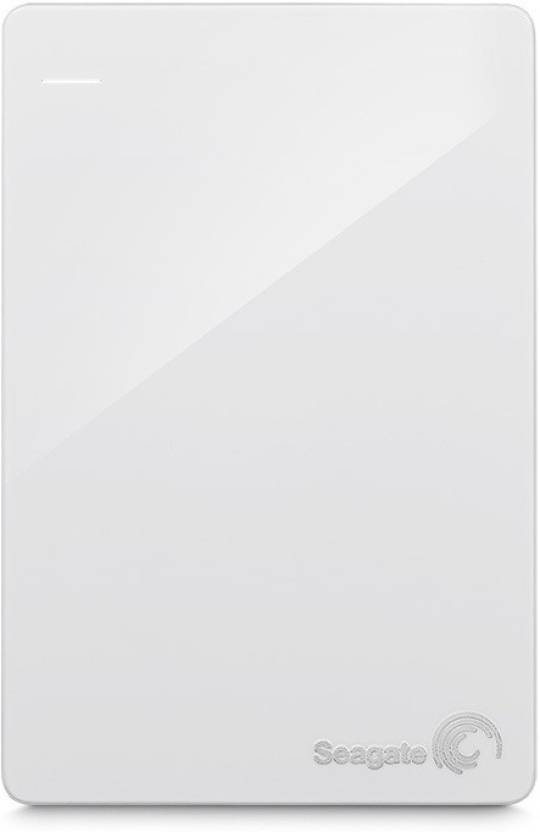 Seagate Backup Plus Slim 1 TB Wired External Hard Disk Drive White, Mobile Backup Enabled