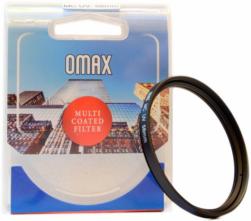 Omax 58mm Multi Coated UV For Canon EF S 18 55mm IS II Lens UV Filter 58 mm