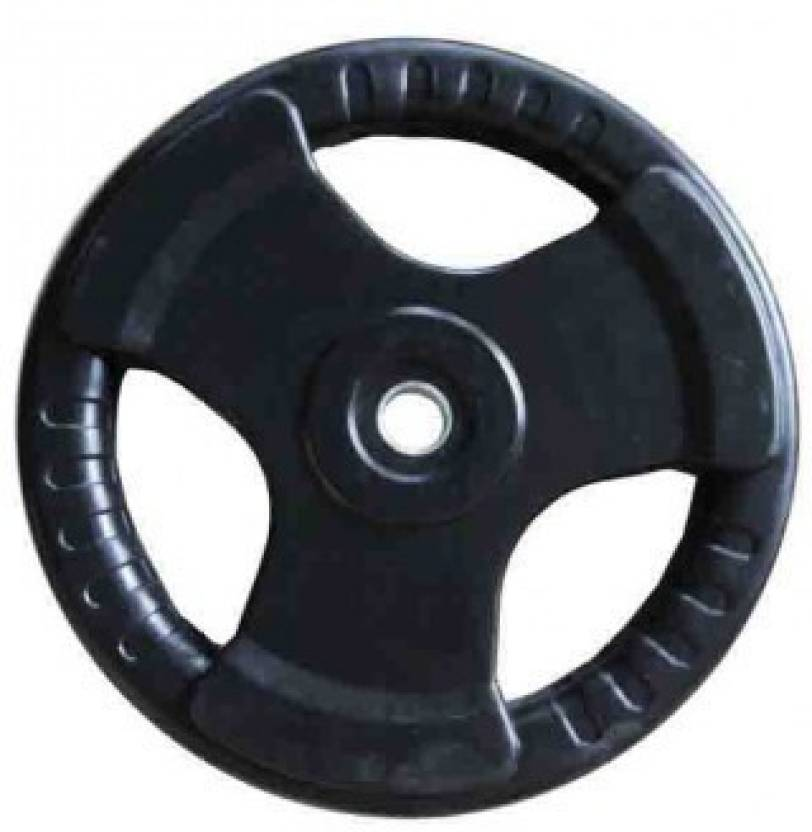 Indus Rubber Coated Black Weight Plate 2.5 kg