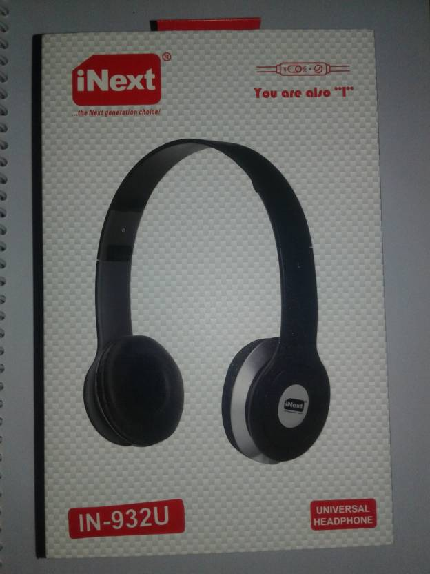 Inext IN 932U Headphone Multicolor, Over the Ear