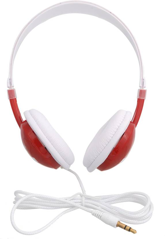 iNext IN 904 HP Red Headphone Red, Over the Ear