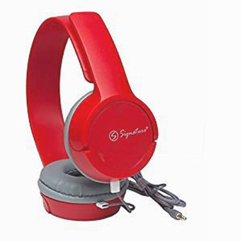 Signature VM 61 Headphone Red, Over the Ear