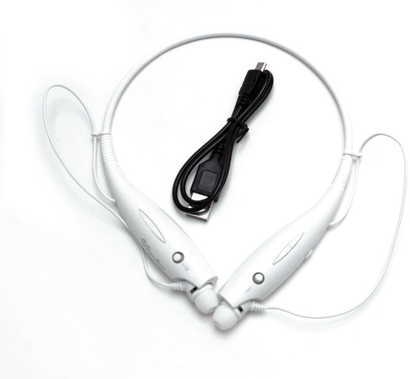 Signature VMB 1 Trendy Bluetooth Headset with Mic White, In the Ear