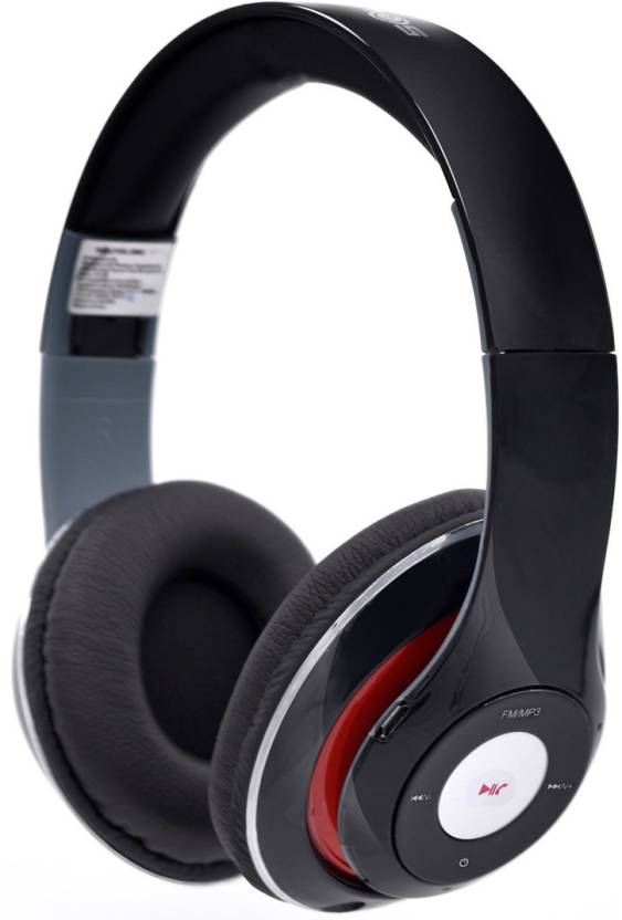 SoundLogic BTHP001PX_BK Bluetooth Headset with Mic Black, Over the Ear