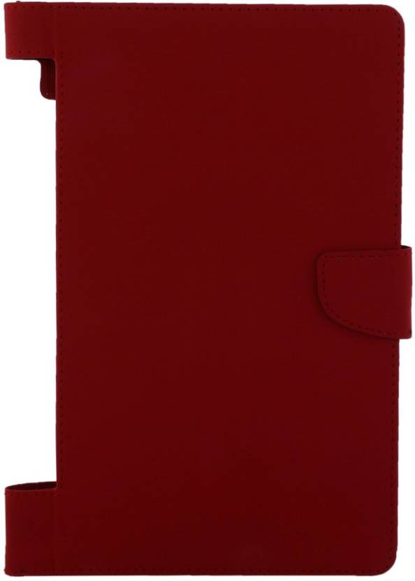 Colorcase Flip Cover for Lenovo Yoga 3 8 inch Red