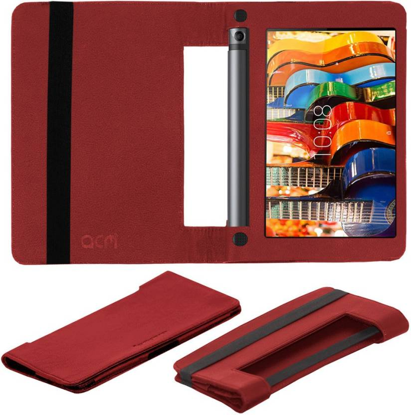 ACM Book Cover for Lenovo Yoga Tab 3 8 inch Red