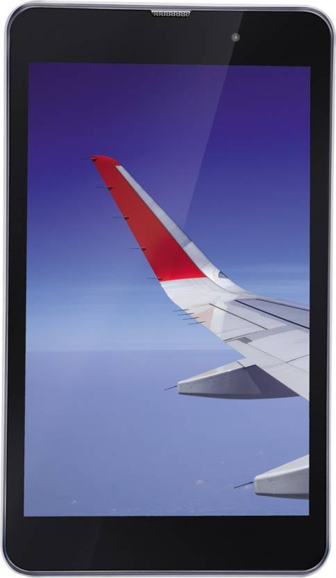 iBall Slide Wings 4GP 16  GB 8 inch with Wi Fi+4G Tablet  Silver Chrome