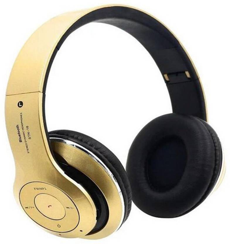 Only Imported.com ATH C101M BK Bluetooth Headphone Gold, On the Ear