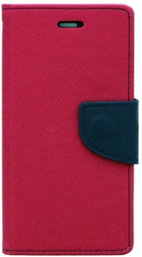 GadgetM Flip Cover for Mi Redmi Note 4 Pink