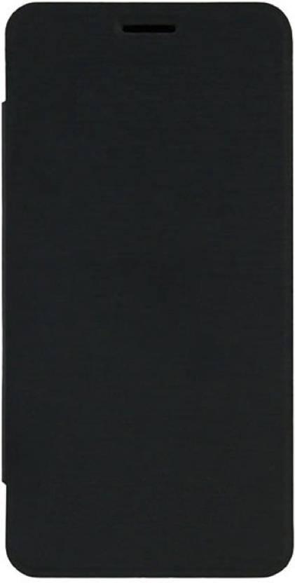 Satia Flip Cover for Gionee Ctrl V4S Black