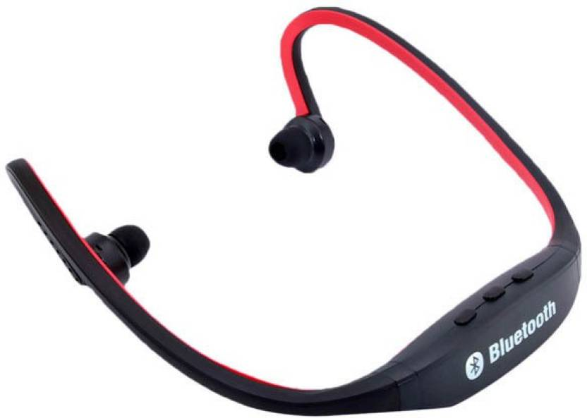 PERSONA BS19 Bluetooth Headset with Mic Black, In the Ear
