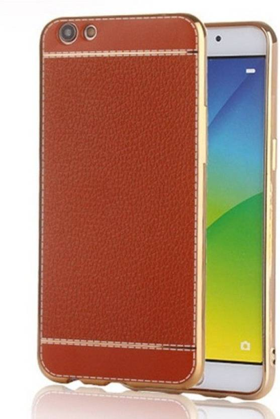 Excelsior Back Cover for VIVO V5 Brown