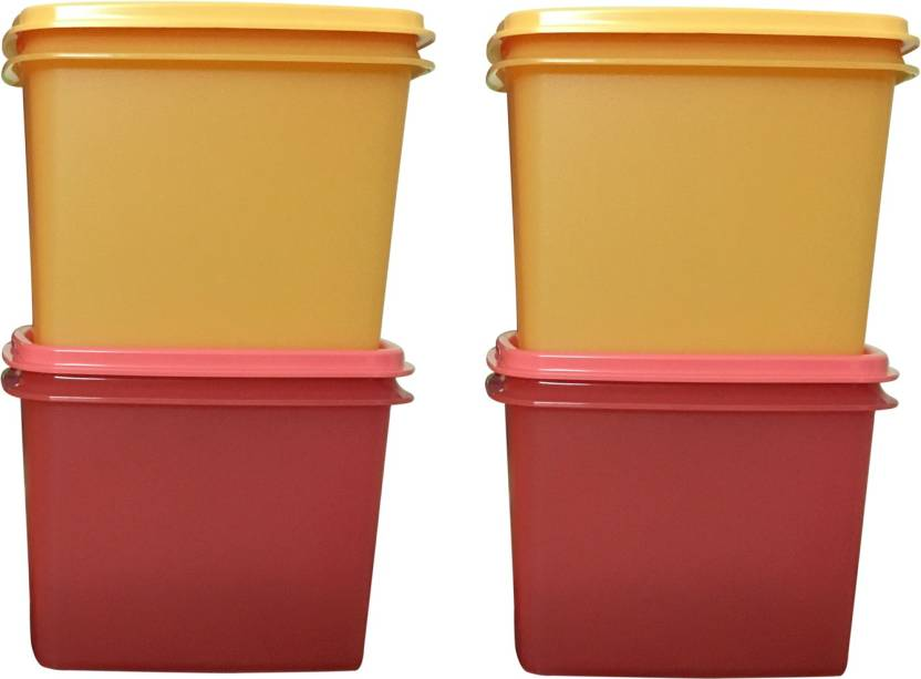 Tupperware with in reach colors 4 Containers Lunch Box