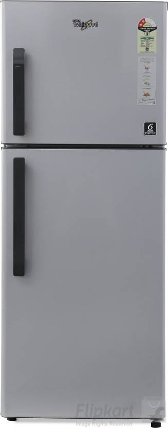 Whirlpool 245 L Frost Free Double Door 2 Star Refrigerator Swiss Silver, NEO FR258 CLS PLUS 2S