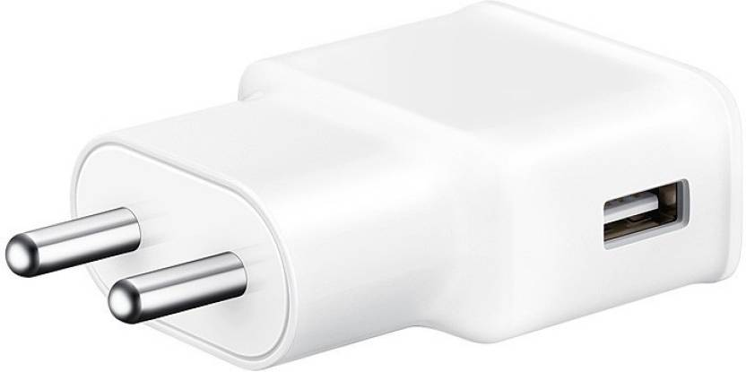 Samsung Travel Adapter  EP TA20IWEUGIN  WHITE Mobile Charger White, Cable Included