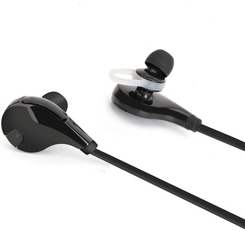 A Connect Z Jogger Stylish Hdset  14 Bluetooth Headset with Mic Black, In the Ear
