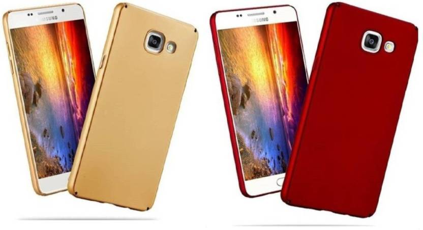 YuniKase Back Cover for Samsung Galaxy on Max Golden Red