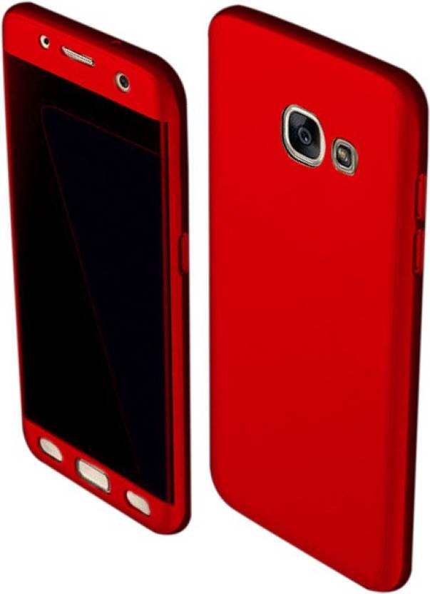 Starq Front   Back Case for Samsung Galaxy J5 Prime Red, Dual Protection