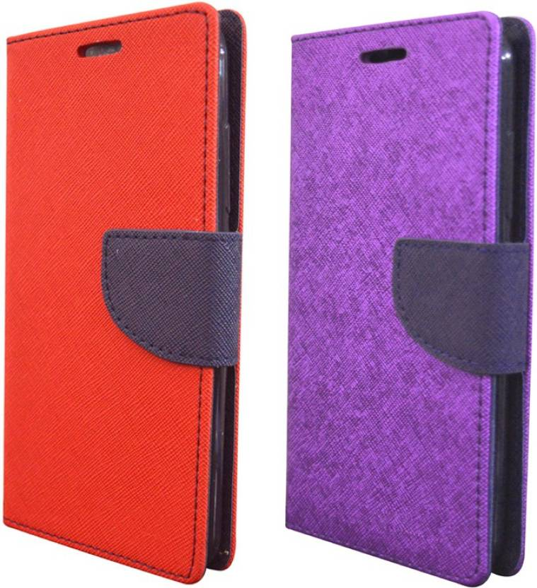 COVERNEW Flip Cover for Sony Xperia M2 Dual D2302 Multicolor