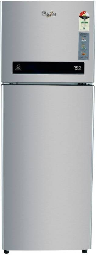 Whirlpool 292 L Frost Free Double Door 3 Star Refrigerator Swiss Silver, NEO DF305 PRM  3S