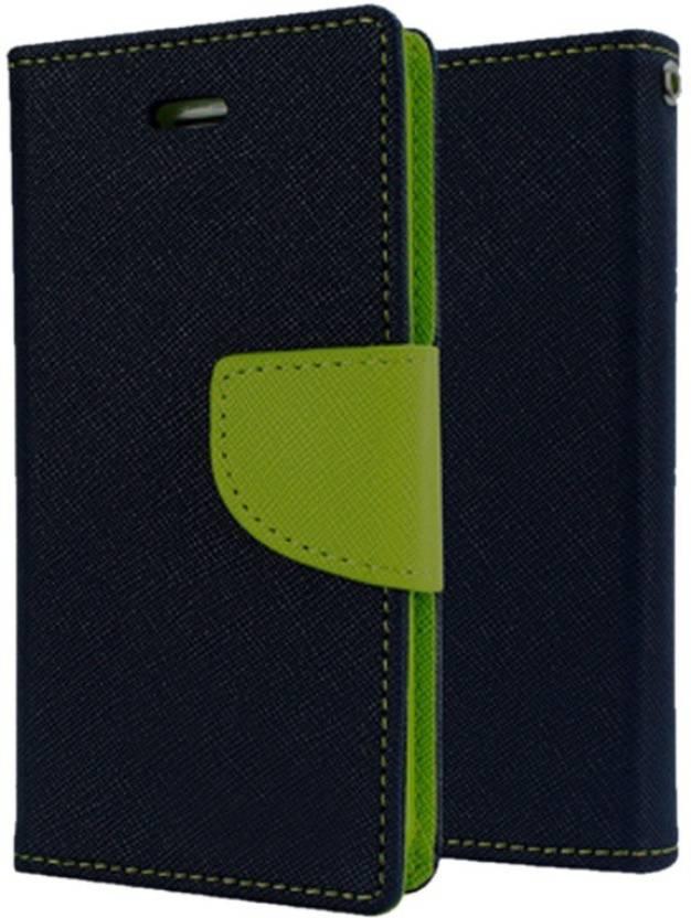 Spicesun Flip Cover for Samsung Galaxy C9 Pro Blue, Green