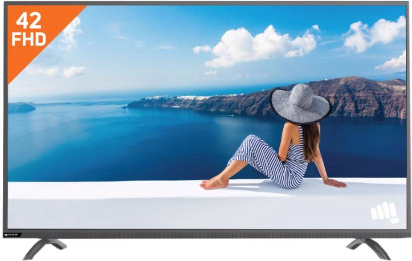 Micromax 106cm  42 inch  Full HD LED TV 42R7227FHD/42R9981FHD