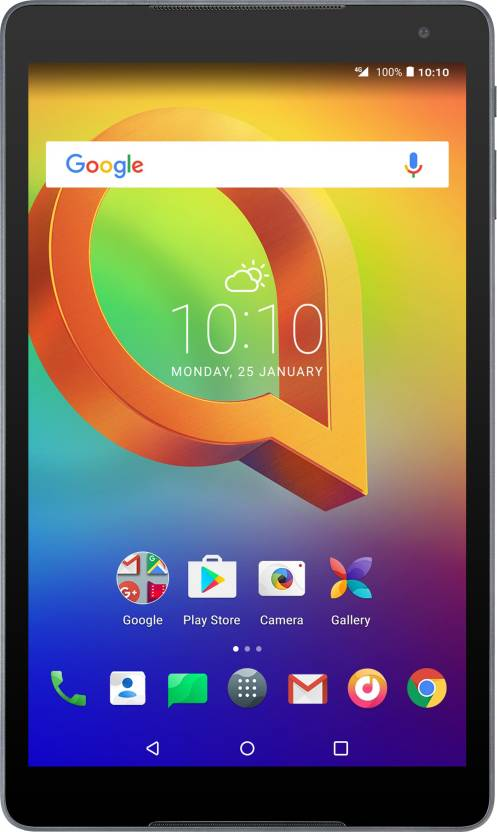 Alcatel A3 10  VOLTE  16  GB 10.1 inch with Wi Fi+4G Tablet  Volcano Black