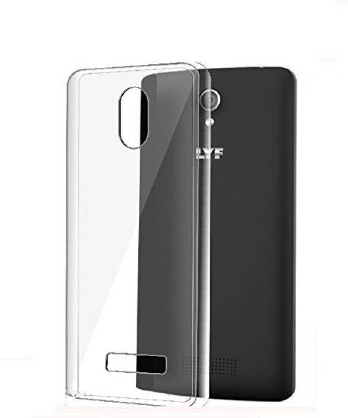 SRT Back Cover for LYF Wind 3 Transparent, Dual Protection