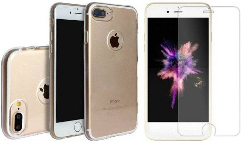 7Rocks Cover Accessory Combo for Apple IPhone 8 White,Transparent