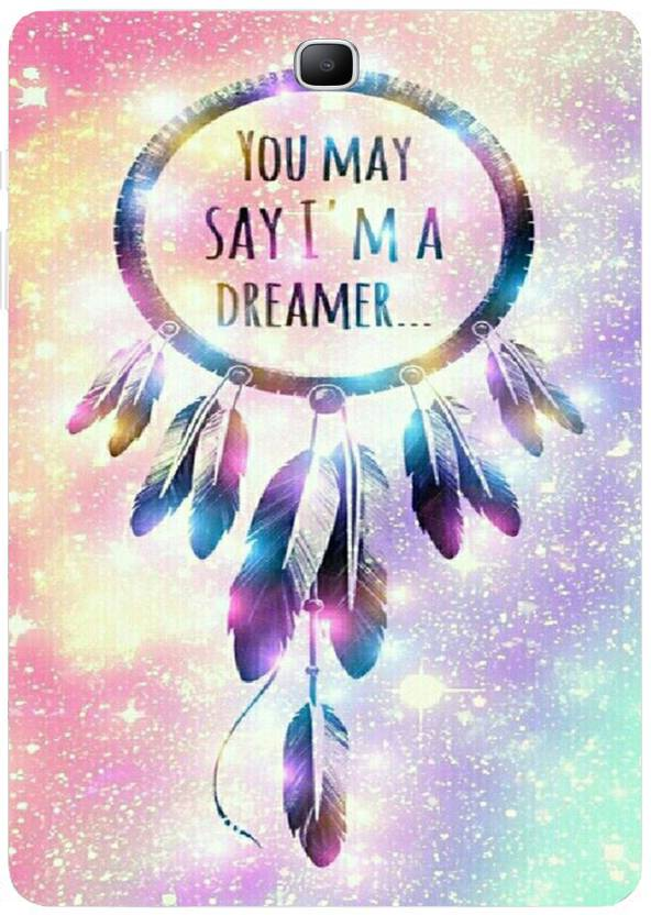 The Little Shop Back Cover for Samsung Galaxy Tab A T550 T555  9.7 inch  Im Dreamer, Silicon