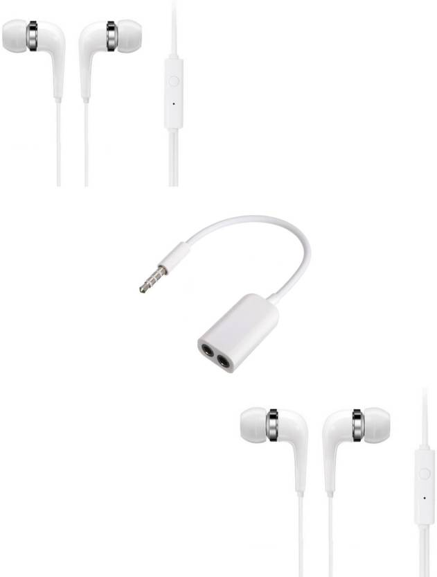 Furst Headphone Accessory Combo for Samsung Galaxy S7 Edge White