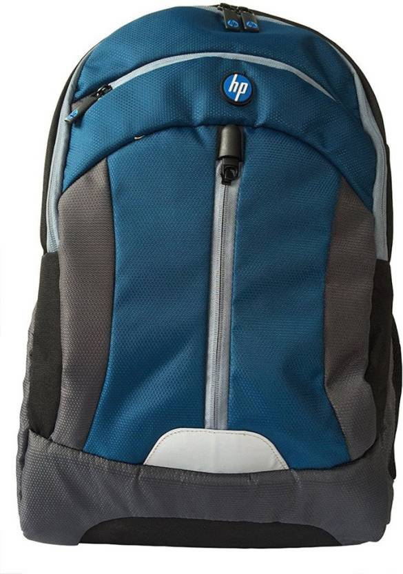 HP 15.6 inch Expandable Laptop Backpack Blue