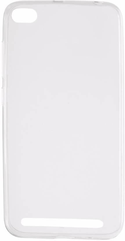 Xiaomi Back Cover for Mi Redmi 5A Transparent, Shock Proof, Silicon