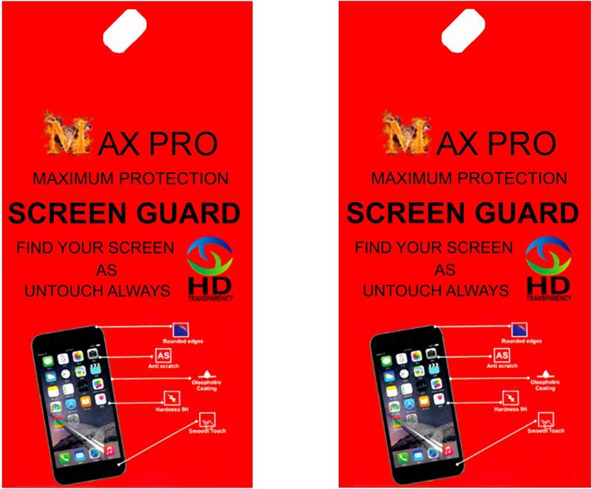 Maxpro Screen Guard for Lenovo Tab 2 A8 50 Pack of 2