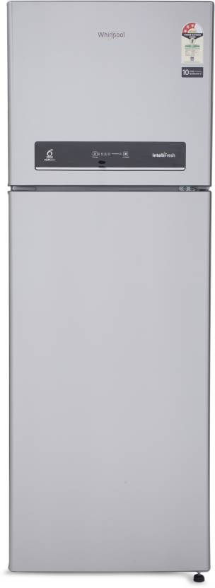 Whirlpool 360 L Frost Free Double Door 3 Star Refrigerator Alpha Steel, IF 375 ELT 3S