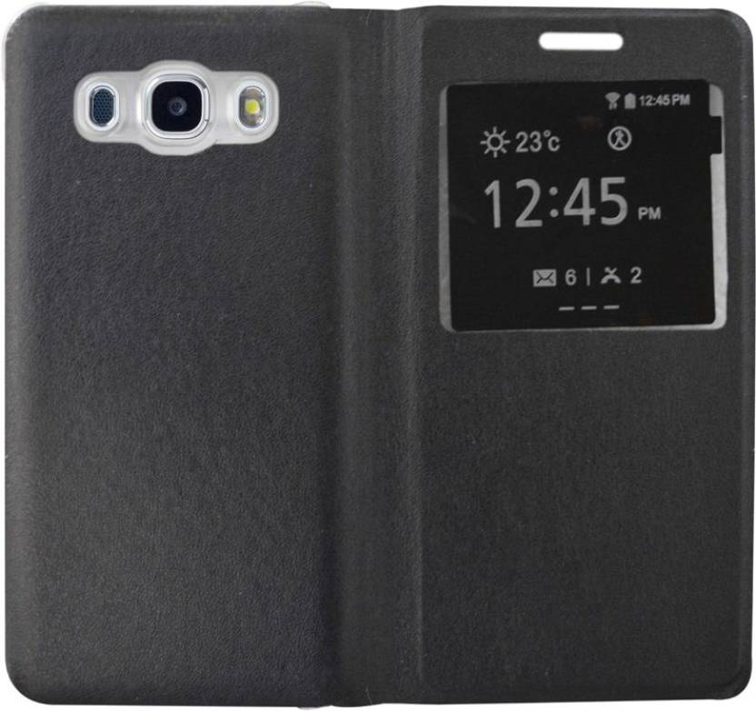 Coverage Flip Cover for SAMSUNG Galaxy On8 Black