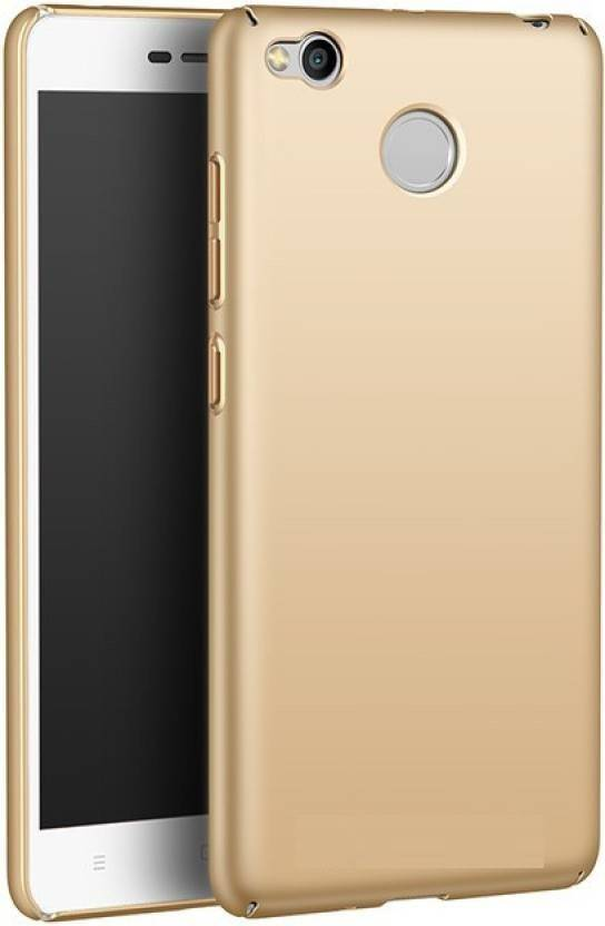 MPE Back Cover for Mi Redmi 4 Gold