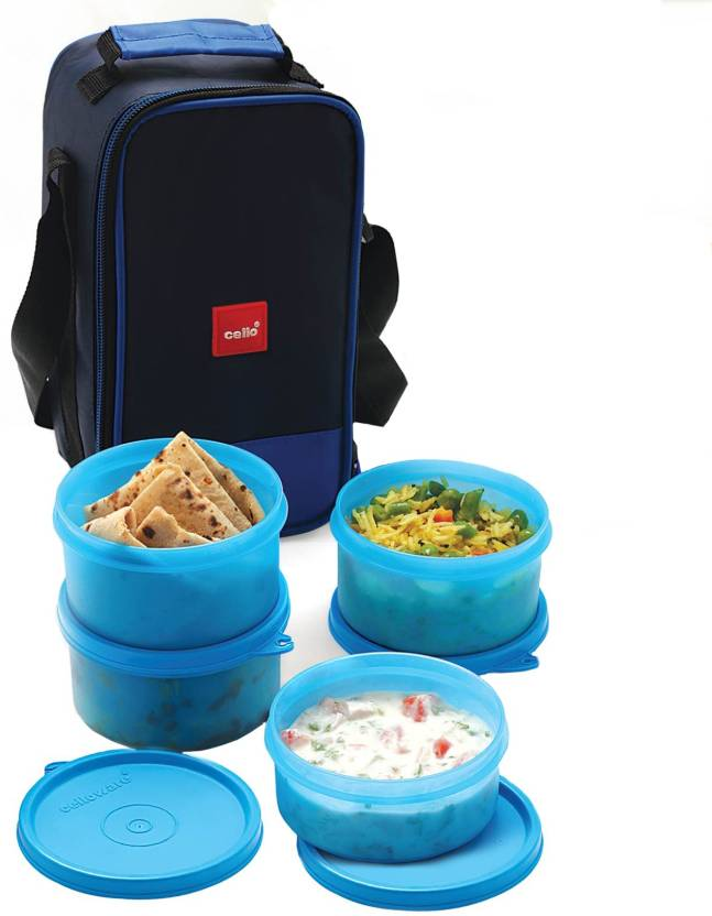 Cello Fresh Joy 4 Containers Lunch Box 1325 ml