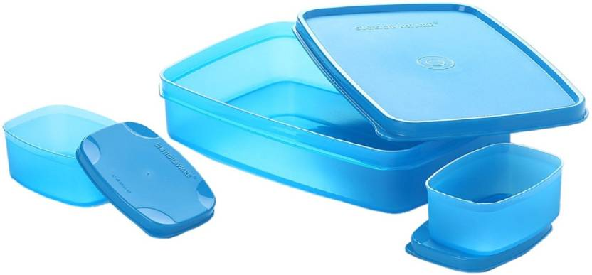 Signoraware Compact 3 Containers Lunch Box 1050 ml